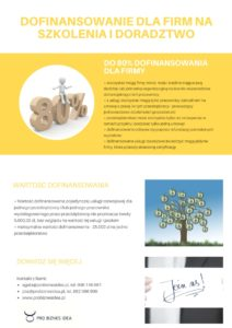 Dofinansowanie szkolen dla pracownikow 2